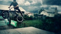 Slow Motion BMX Footage « Onestep Creative #bmx #motion #photography #lighting #slow #dirt
