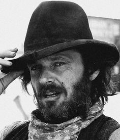 Where's the whiskey? #photography #film #jack nicholson #black and white #cowboy