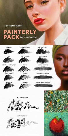 Painterly Pack – Procreate Brushes