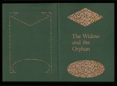 The Widow & the Orphan 𝔇𝔞𝓇𝒾𝓊𝓈 𝒪𝔲 #zine #typographers #pornography #typography