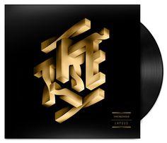 Tremendo Typography – Fubiz™ #typography #gold
