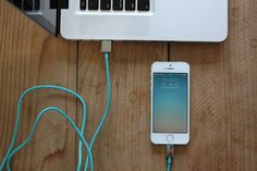 CandyWirez Colorful USB Sync & Charge Cables #iphone #cables #gadget #smartphone