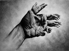 this isn't happiness™ (Oriol Angrill Jordà), Peteski #white #shading #hand #black #illustration #and #surreal #pencil