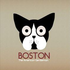 14-2.png (1000×1000) #boston #identity #terrier #logo #dog