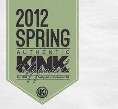 Kink 2012 apparel e1331935264329.jpg (600×556) #spring #tag #typography