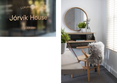 Jorvik House Identity - Mindsparkle Mag Fettle Design designed the identity for Jorvik House – a boutique hotel in city centre York that draws inspiration from the city's rich history and Viking heritage combined with modern Scandinavian design to create an exclusive and luxurious getaway. #logo #packaging #identity #branding #design #color #photography #graphic #design #gallery #blog #project #mindsparkle #mag #beautiful #portfolio #designer