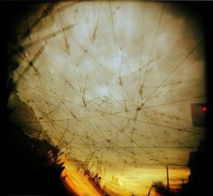 holga tram wires | Flickr - Photo Sharing! #brown #innes #photography #hamish