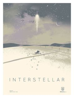 Kevin Dart #inspiration #design #print #poster #creative #movie #film #interstellar #unique #space