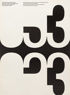 Typographische SwissTypography #scale #print #design #contrast #numbers #typography