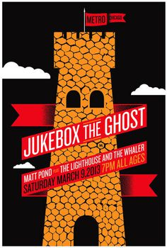 GigPosters.com Jukebox The Ghost Matt Pond Lighthouse And The Whaler, The #poster