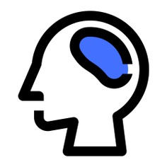 See more icon inspiration related to brain, neurology, miscellaneous, scientific, intelligence, user, science and medical on Flaticon.