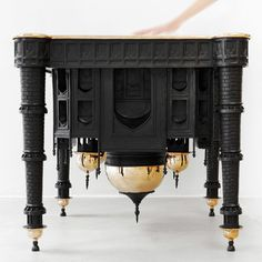 Taj Mahal Table by Studio Job 2 #job #studio #taj #mahal #table