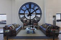 CJWHO ™ (Clock Tower Penthouse in Brooklyn / New York) #design #interiors #photography #architecture #penthouse #clock