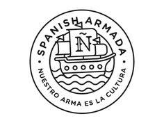 Spanish Armada #logo #brand #emblem