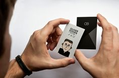 Personal Business Card #branding #identity #business card #cartoon
