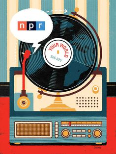 WORKS : The Illustrations of Philip Cheaney #news #cheaney #philip #world #calendar #record #poster #npr