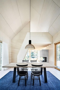 Swedish Summer House Combines Japanese Simplicity with Scandinavian Cottage Traditions 5