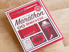 Marathon Drib #marathon #holiday #card