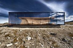 Tverrfjellhytta: Norwegian Wild Reindeer Centre Pavilion #interior #design #architecture