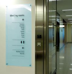 Accenture Fenchurch St. wayfinding on the Behance Network
