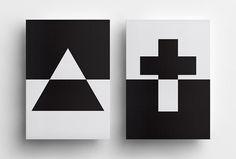 Michael Debus: Trinität by Yuta Takahashi #book #editorial #print #design #publishing #black #white