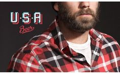 O Co. #beer #america #beard #usa #flannel