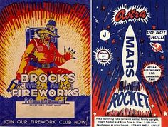 DO NOT HOLD #process #packaging #color #fireworks #vintage #three