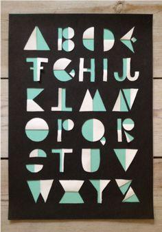 Michelle Carlslund FLIP alphabet.
