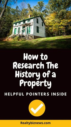 How to research the history of a house
