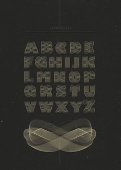 Lemniscate on Typography Served #typeface #typography