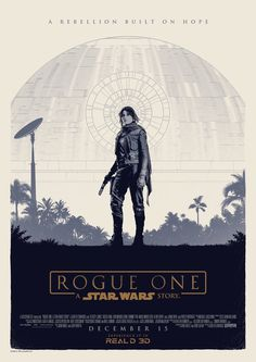 Official Rogue One poster design