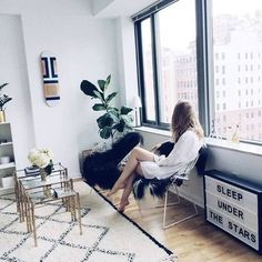 (2) Likes | Tumblr #interior #design #girl #grey