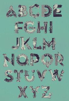 Alphabet Birgit Palma