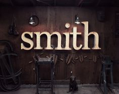 Gallery Sideshow Sign Co. #type #smith journal #sideshow sign co