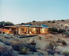 Los Angeles–based design partners Taalman and Koch created this house in Pioneertown, California. #architecture #house
