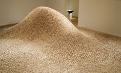 maya lin at the de young museum, san francisco #sculpture
