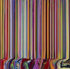 Ian Davenport | PICDIT #color #design #paint #painting #art