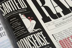 RANE on the Behance Network #design #graphic #illustration #editorial #magazine