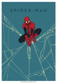 Spectacular Avengers Spiderman #avengers #spiderman #illustration #minimal
