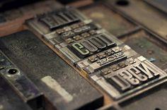 Bookmarks   Cast Iron Design Company #design #iron #letter #press #cast #typography