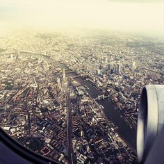 london calling by eike loge #inspiration #creative #airplane #flying #photography #beautiful