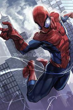 Spider Man by JimboBox on deviantART