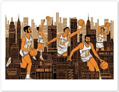 freedarkostore — Knicks Print (2nd Edition) #nba #knicks