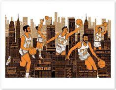 freedarkostore — Knicks Print (2nd Edition) #nba #knicks