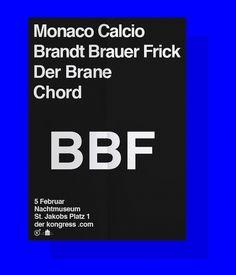 Bureau Mirko Borsche #print #poster #typography