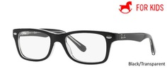 Black/Transparent RayBan Eyeglasses ORY1531 - Black/Transparent - Violet/Grey - Tortoise/Pink - Red.