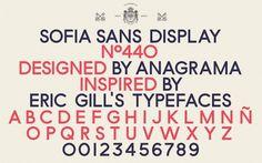 Anagrama | Sofia by Pelli Clarke Pelli Architects #typography #branding #identity