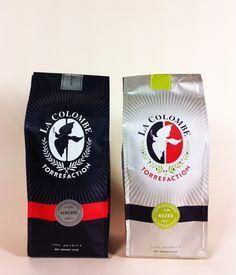 #lacolombe #philadelphia #coffee #packaging