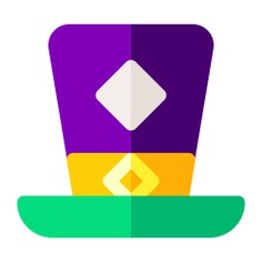 See more icon inspiration related to hat, magic, birthday and party, magic trick, magician hat, accessory, magician and fashion on Flaticon.