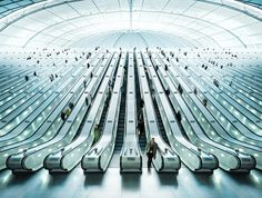 epic on the Behance Network #stoll #photography #architecture #escalator #christian